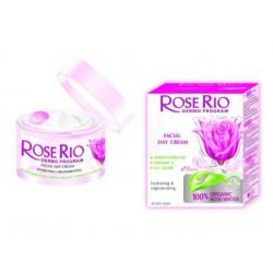 Дневен крем със 100% БИО розова вода