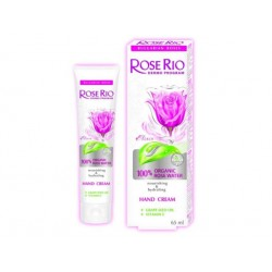 Крем за ръце със 100% БИО розова вода