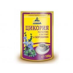 Цикория, разтворима с боровинка - 100 гр.