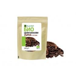 БИО цели какаови зърна - 250 гр.